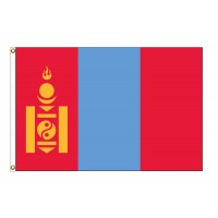 Mongolia Nylon Flags (UN Member)