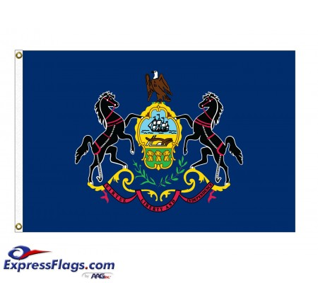Poly-Max Pennsylvania State FlagsPA-PM