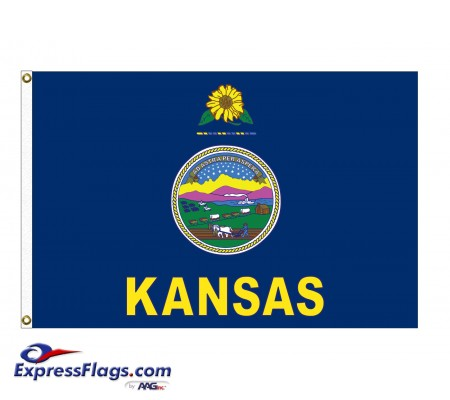 Poly-Max Kansas State FlagsKS-PM