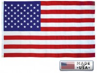 SUN-BRITE NYLON American Flags - Printed