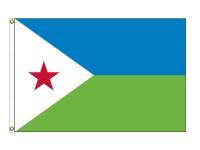 Djibouti Nylon Flags - (UN Member)