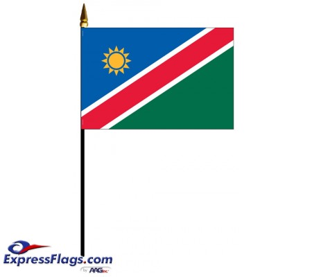 Namibia Mounted Flags - 4in x 6in032867