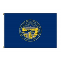 Nylon Nebraska State Flags