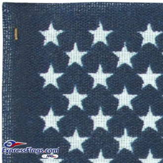 12in x 18in No-Fray Cotton U.S. Stick Flags - No Tip (12 pack)010224-12