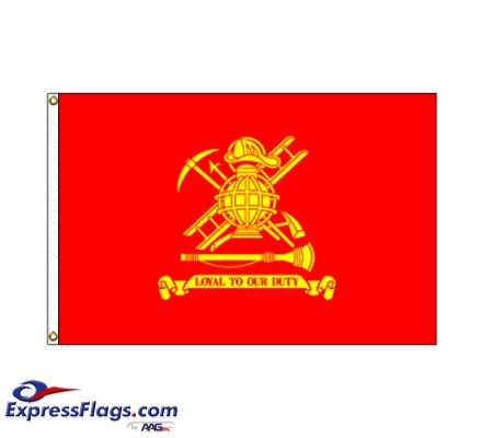 Firemen Flag - 3  x 5  Endura-Nylon070285