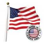 American 3' x 5' Flag - SUN-BRITE Nylon Made in USA