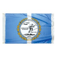 Korean War Veterans Commemorative Flags - 3' x 5'
