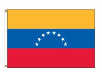 Venezuela Nylon Flags (No Seal)