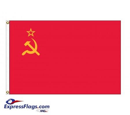 USSR (1955-1991) Nylon FlagsUSSR-NYL