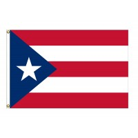 Poly-Max Puerto Rico Flags