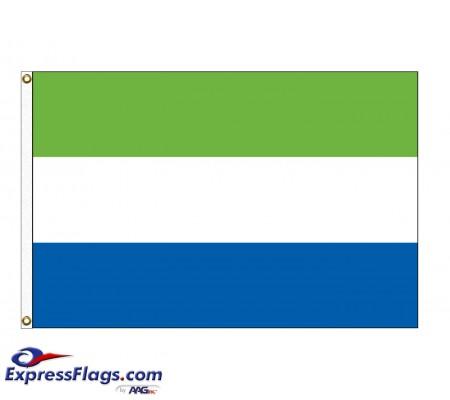 Sierra Leone Nylon Flags (UN Member)SLE-NYL