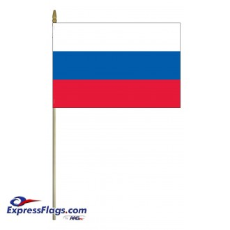 Russian Federation Mounted Flags