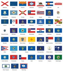 U.S. State and Territory Flags